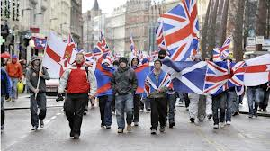 International solidarity Loyalist style. From Alabama to Scotland.