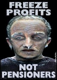 Pensioners not profits