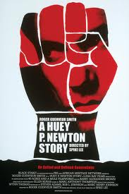 Original theatre poster for A Huey P Newton Story.