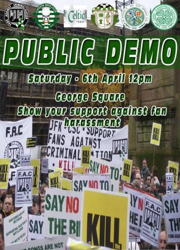 Green Brigade demo