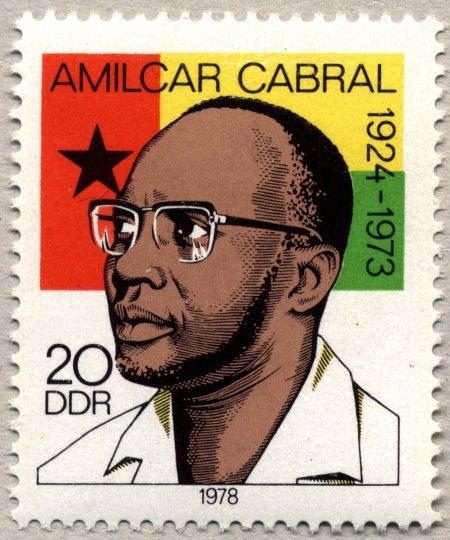 Stamp honouring Amilcar Cabral
