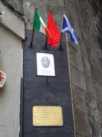 Visit James Connolly's birthplace with socialist republican tour guides.