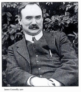 'We only want the earth'- James Connolly