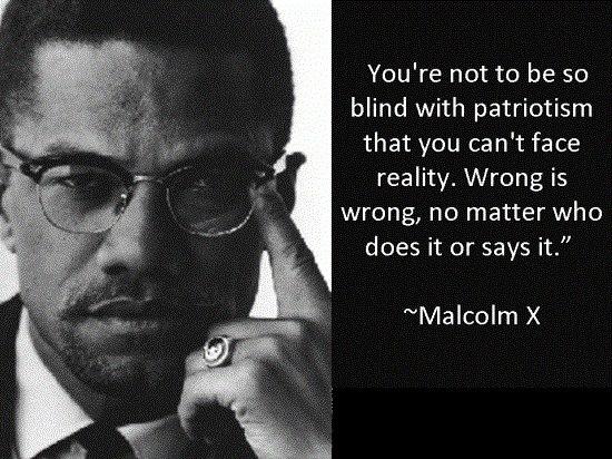 Malcolm C Patriotism
