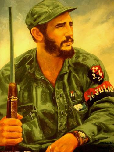 Fidel Painting