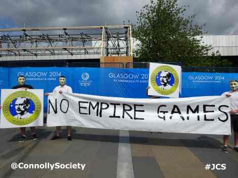 JCS Condemn Political Policing & Protest At Empire Games