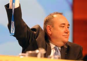 The Dear Leader voting for NATO at 2012 SNP conference.