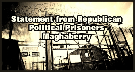 Statement From Roe 4 Republican Political PrisonersMaghaberry