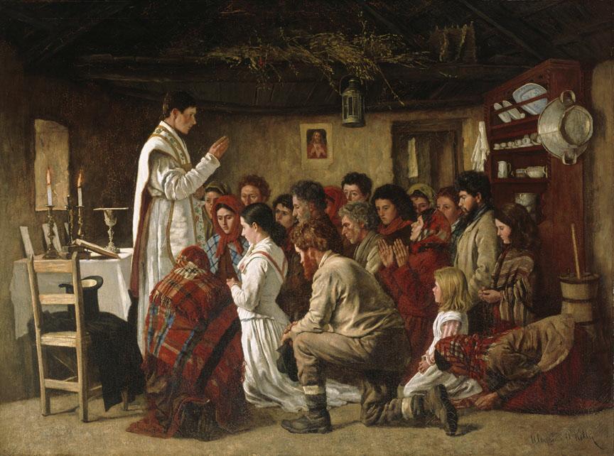 Mass in a Connemara Cabin