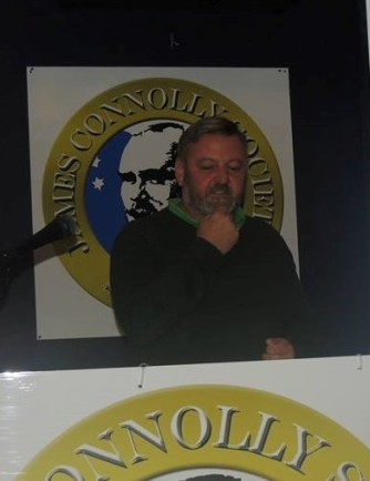 Mark Hayes addressing Connolly Conference 2013.